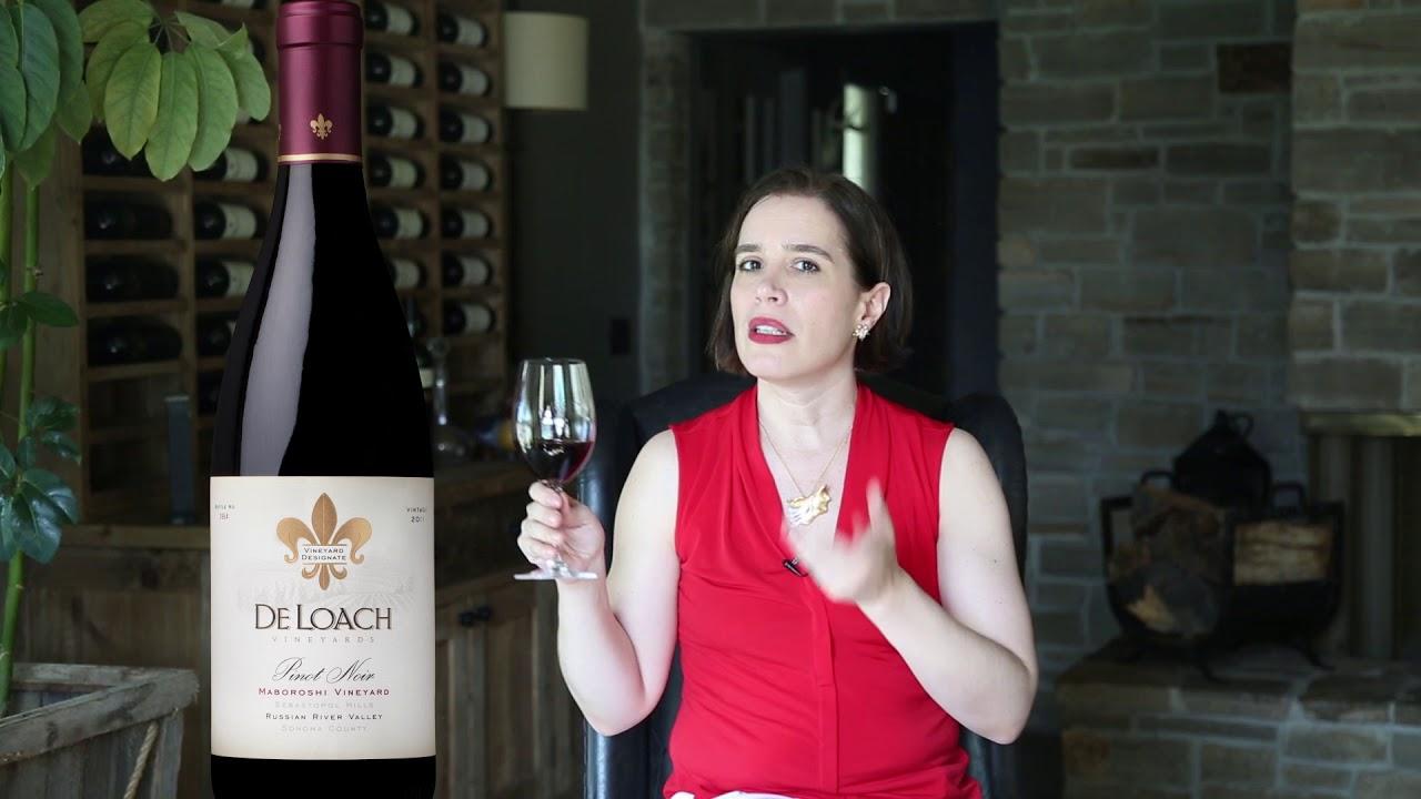 Maboroshi Pinot Noir from DeLoach Vineyards