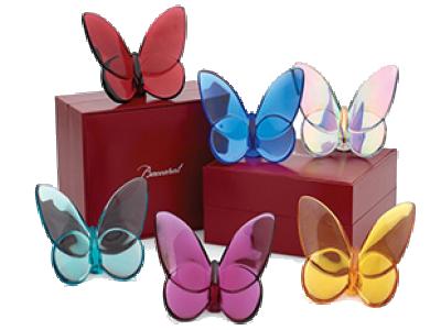 Baccarat Crystal Lucky Butterflies