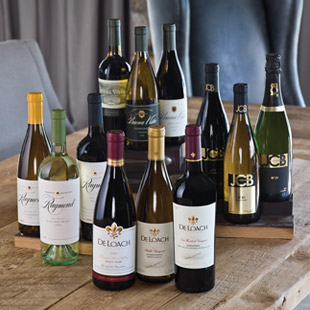 Photo of a selection of wines
